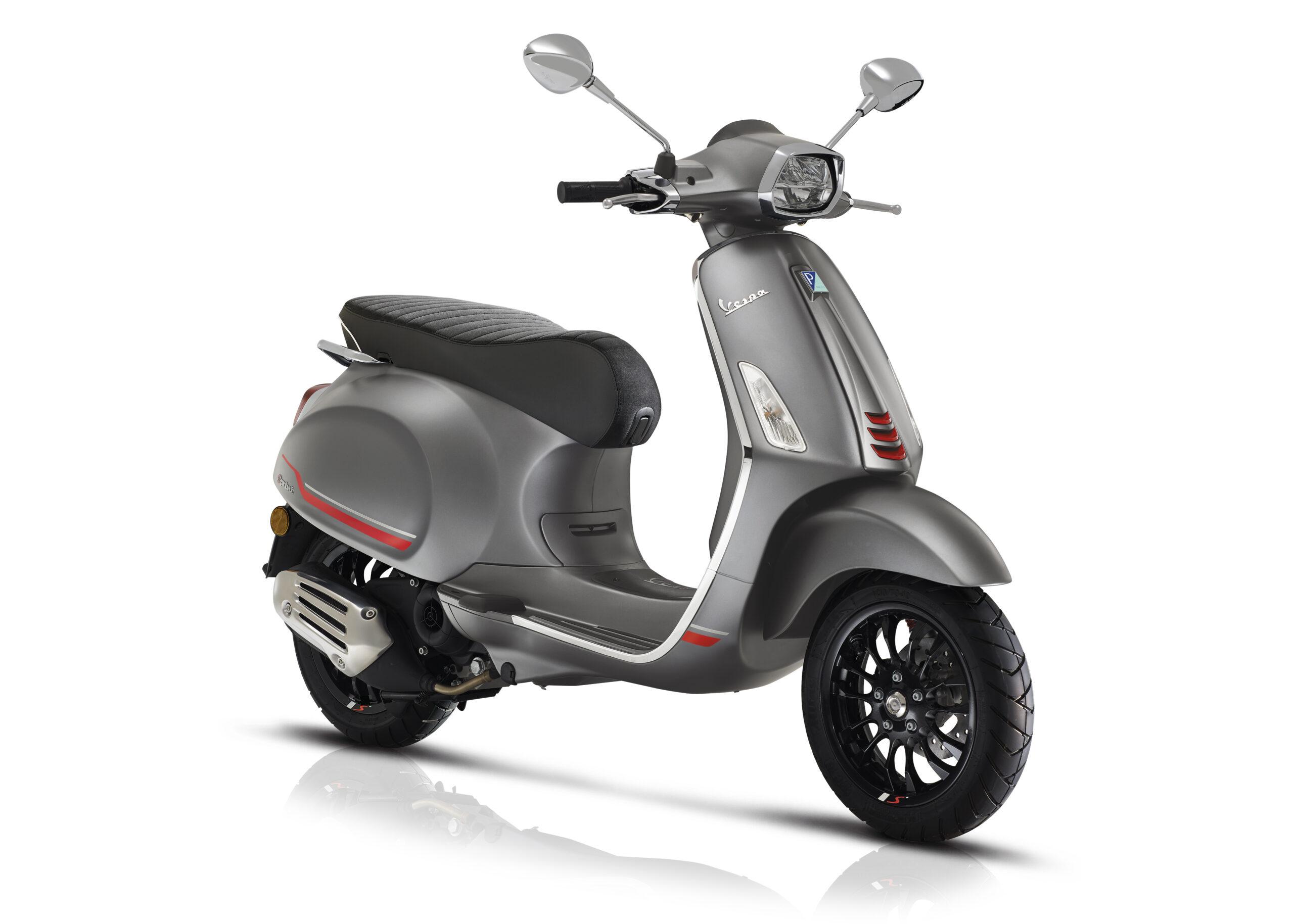 Vespa Primavera Nero Vulcano zwart - Scooter Loods